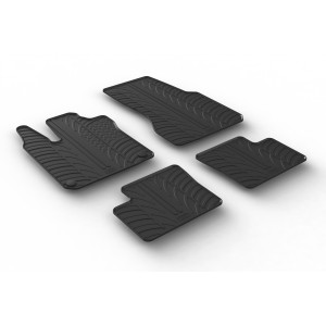 Rubber mats for Smart Forfour