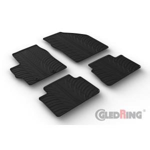Rubber mats for Toyota Yaris HB (petrol/diesel) & HYBRID