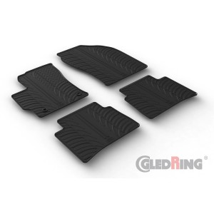 Rubber mats for Toyota Corolla Hybrid SW (automatic)