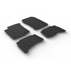 Rubber mats for Toyota Land Cruiser (automatic)