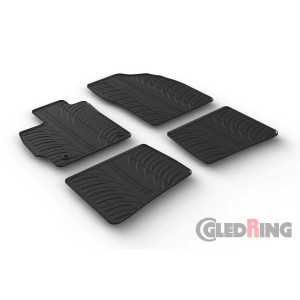 Rubber mats for Toyota Prius