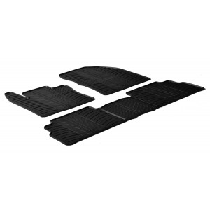 Rubber mats for Toyota Verso