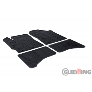 Rubber mats for Toyota Yaris hybrid