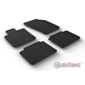 Rubber mats for Volvo S90/V90