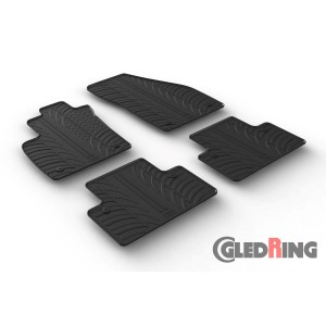 Rubber mats for Volvo V50/S40