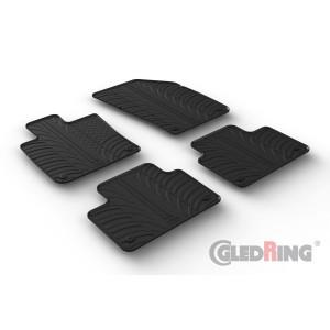 Rubber mats for Volvo V60/S60