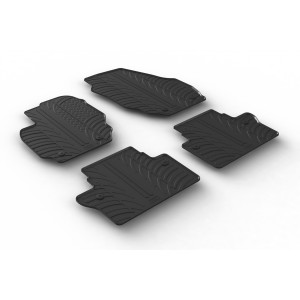 Rubber mats for Volvo V70 / XC70