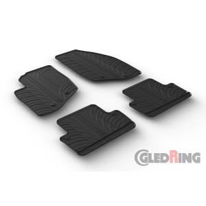 Rubber mats for Volvo S60