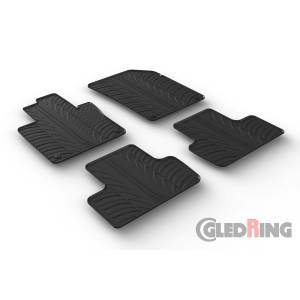 Rubber mats for Volvo XC60 (automatic)