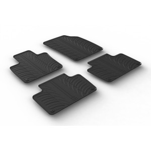 Rubber mats for Volvo XC90