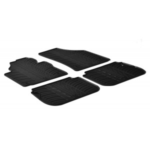 Rubber mats for Volkswagen Caddy / Caddy Cross