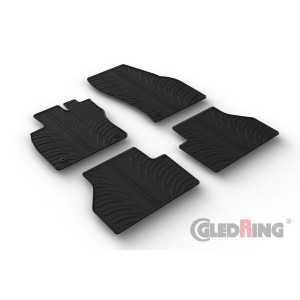 Rubber mats for Volkswagen Caddy Life