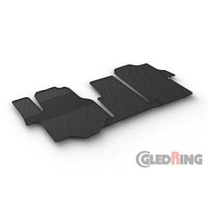 Rubber mats for Volkswagen Crafter