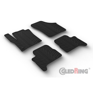 Rubber mats for Seat MII Electric