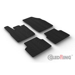 Rubber mats for Volkswagen iD.3