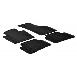 Rubber mats for Volkswagen Passat
