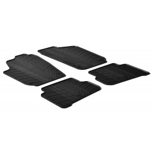 Rubber mats for Volkswagen Polo