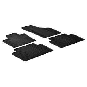 Rubber mats for Volkswagen Sharan (5 doors)