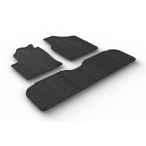 Rubber mats for Seat Alhambra