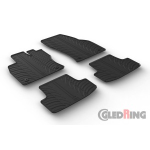 Rubber mats for Volkswagen T-Roc (manual&automatic)