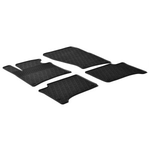 Rubber mats for Volkswagen Touareg