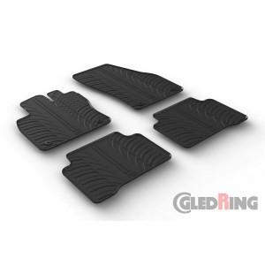 Rubber mats for Volkswagen Touran