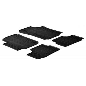 Rubber mats for Volkswagen Up!