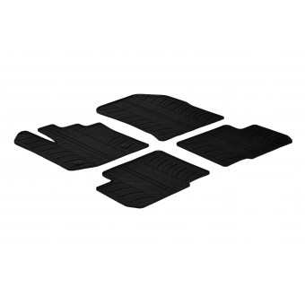 Rubber mats for Dacia Lodgy