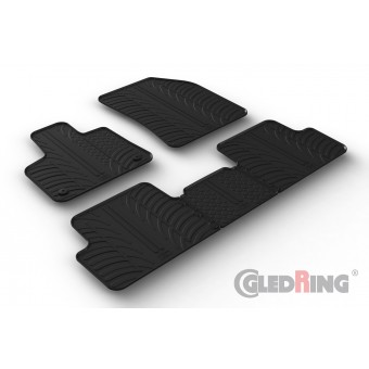 Rubber mats for DS7 CROSSBACK