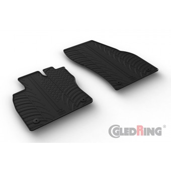 Rubber mats for Volkswagen Caddy Cargo