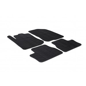 Rubber mats for Peugeot 2008