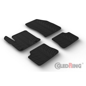 Rubber mats for Peugeot e-208 (electric)