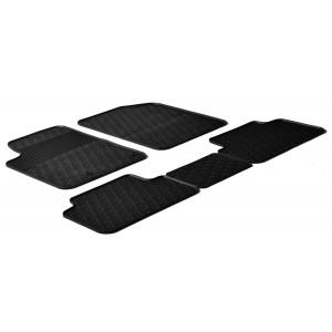 Rubber mats for Peugeot Partner Combi
