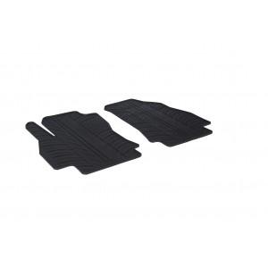 Rubber mats for Peugeot Bipper furgon